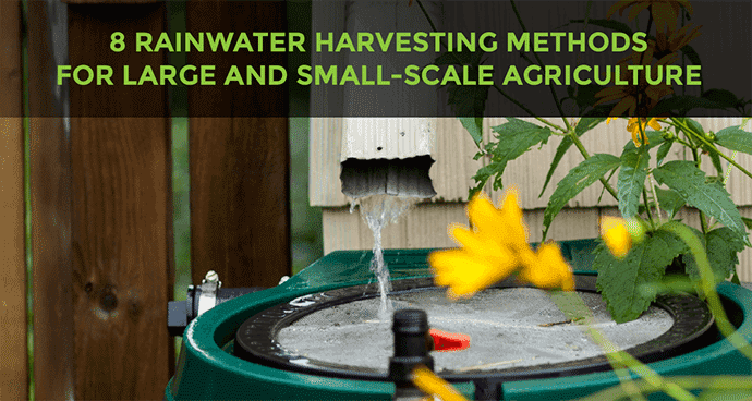Rain Water Harvesting Methods