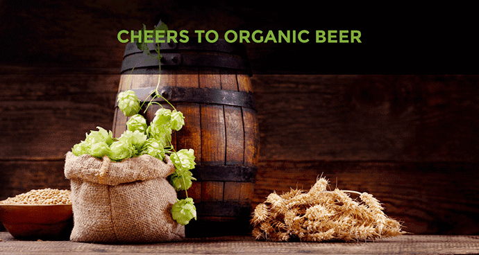 Cheers To Organic Beer