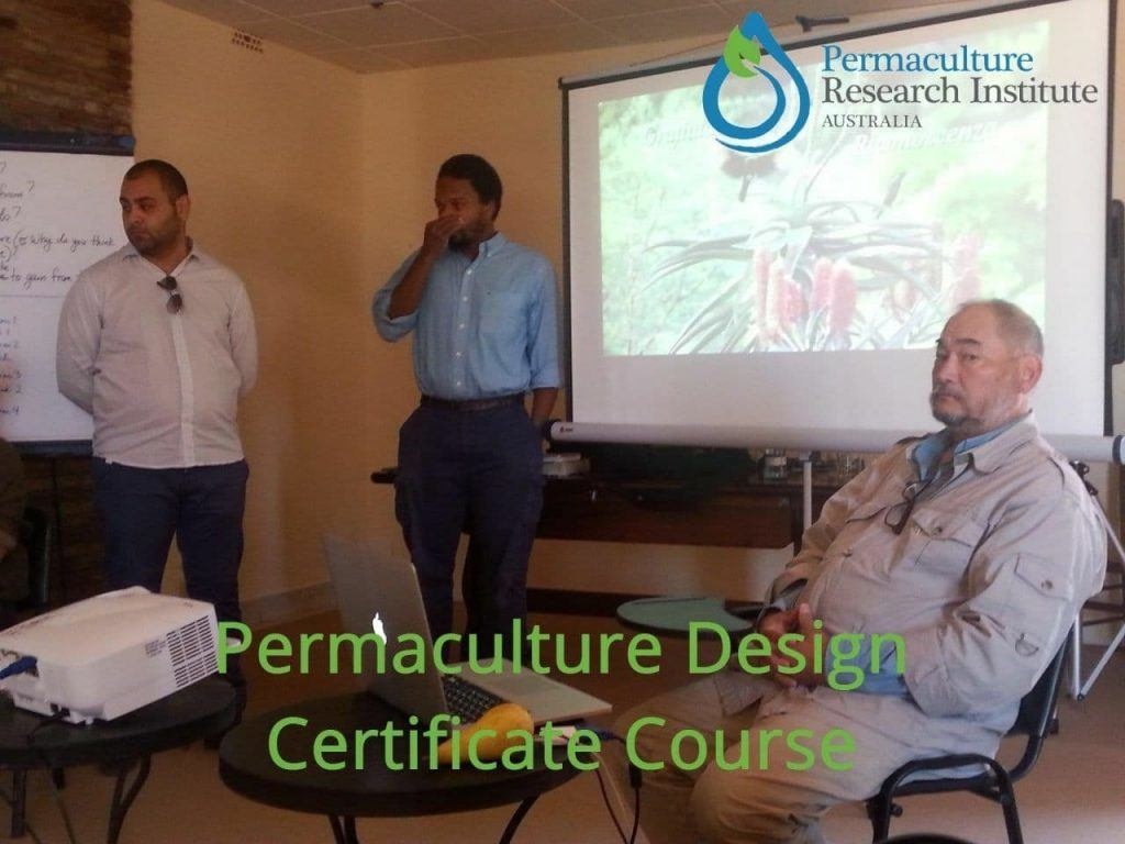 Permaculture Design Course accredited by the Permaculture Research Institute of Australia
